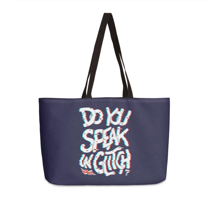 Do You Speak In Glitch Accessories Bag by c0y0te7's Artist Shop