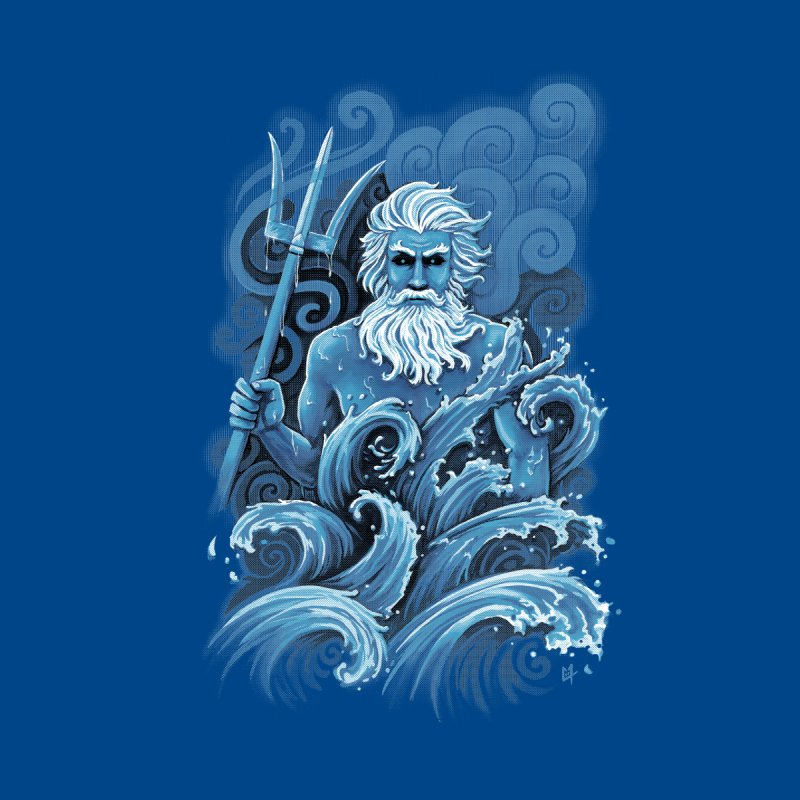 Poseidon   by c0y0te7's Artist Shop