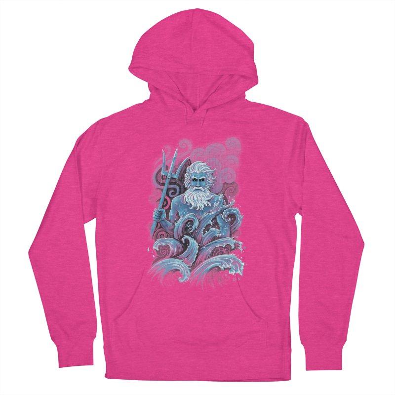 Poseidon Men's Pullover Hoody by c0y0te7's Artist Shop