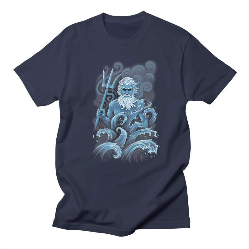 Poseidon Men's T-shirt by c0y0te7's Artist Shop