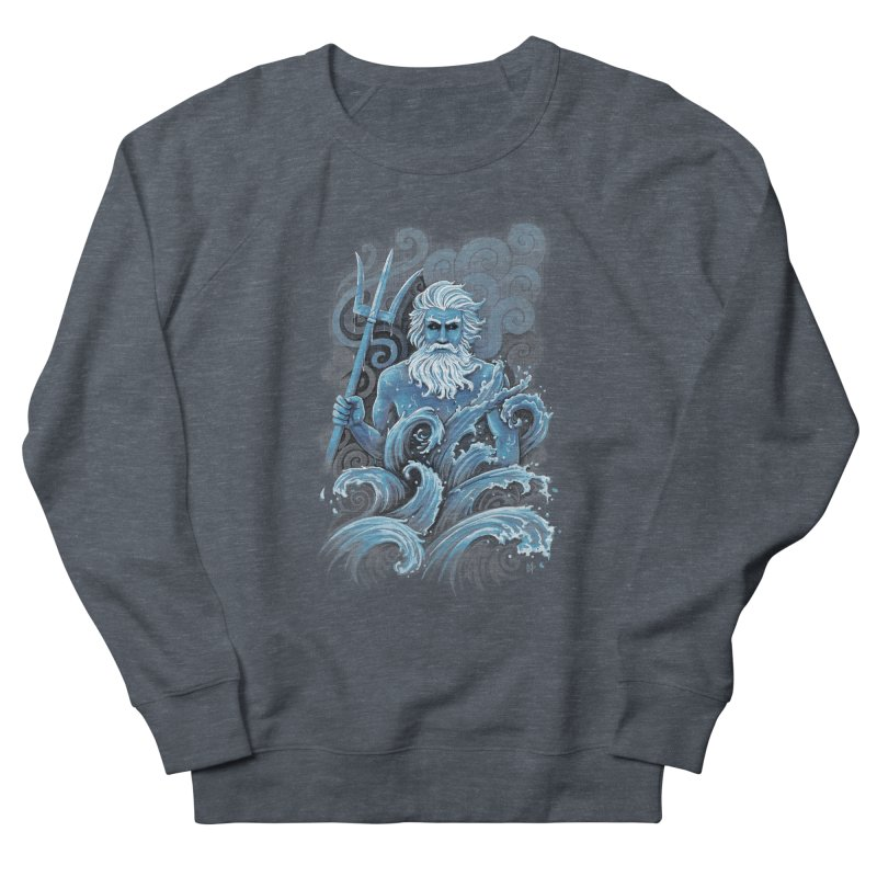 Poseidon Men's Sweatshirt by c0y0te7's Artist Shop