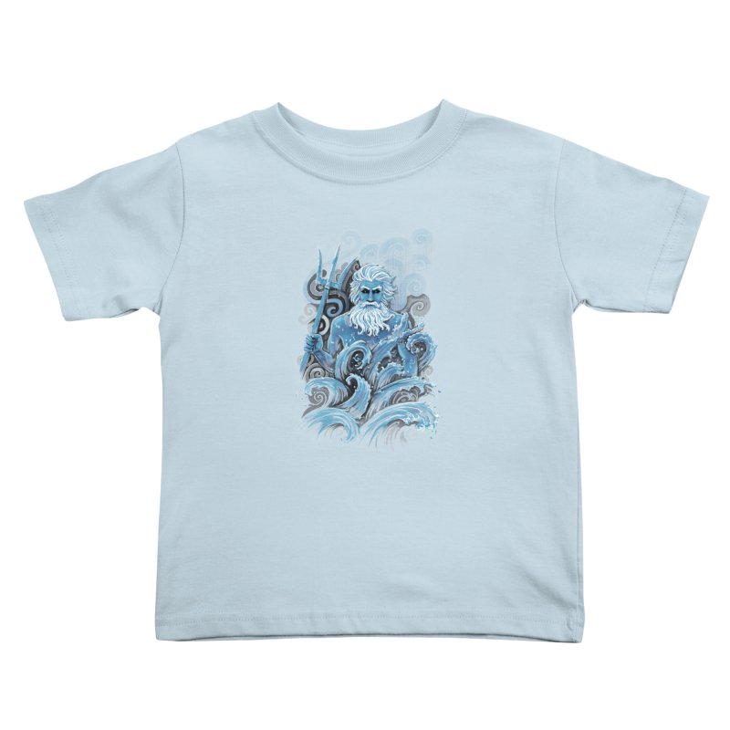 Poseidon Kids Toddler T-Shirt by c0y0te7's Artist Shop