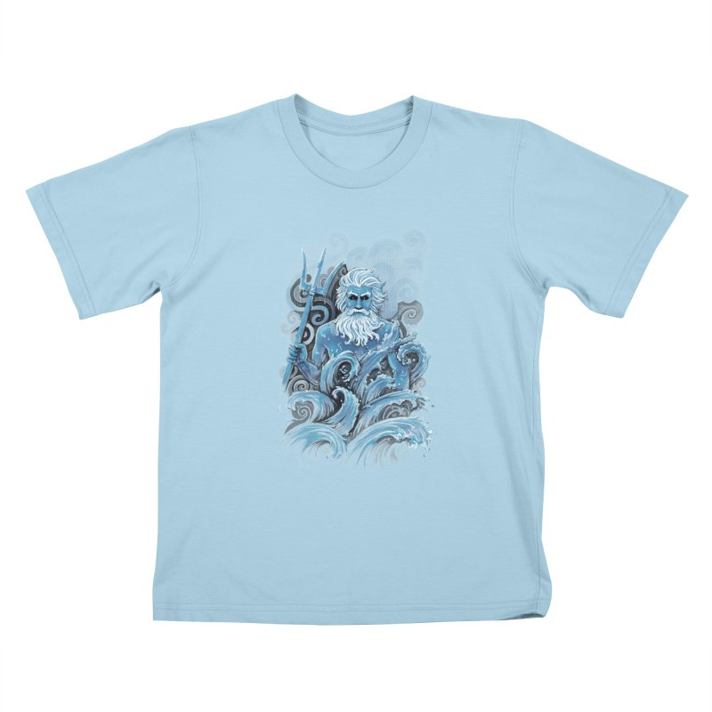 Poseidon Kids T-shirt by c0y0te7's Artist Shop