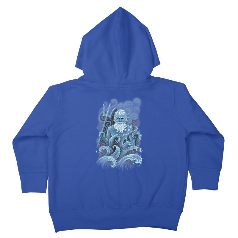 Poseidon Kids Toddler Zip-Up Hoody by c0y0te7's Artist Shop