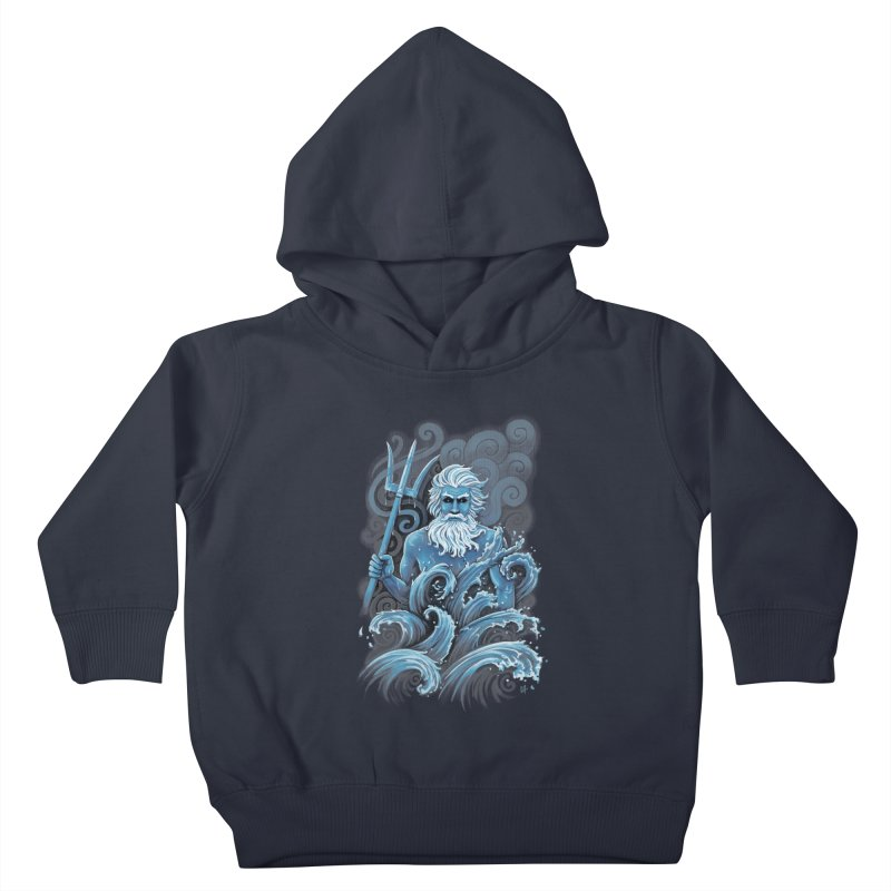 Poseidon Kids Toddler Pullover Hoody by c0y0te7's Artist Shop