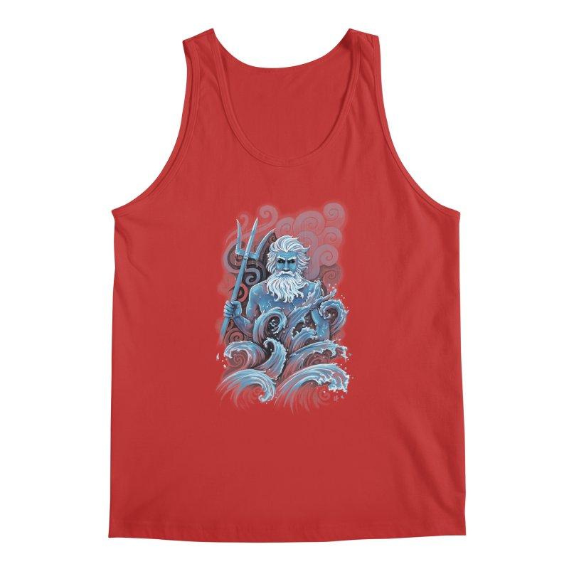 Poseidon Men's Tank by c0y0te7's Artist Shop