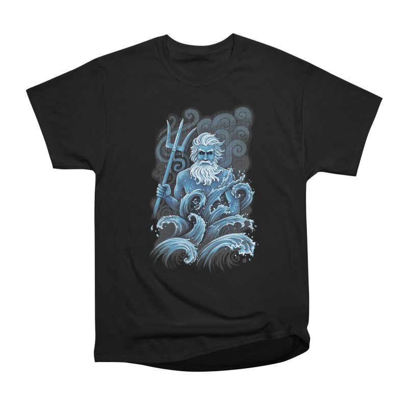 Poseidon Men's Classic T-Shirt by c0y0te7's Artist Shop