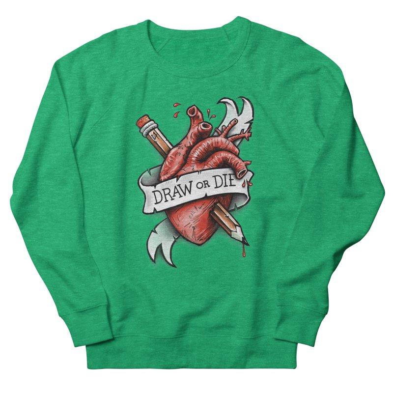 Draw or Die Women's Sweatshirt by c0y0te7's Artist Shop