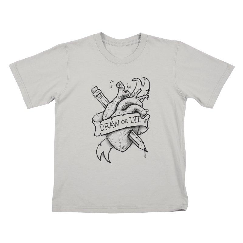 Draw or Die - Black   by c0y0te7's Artist Shop