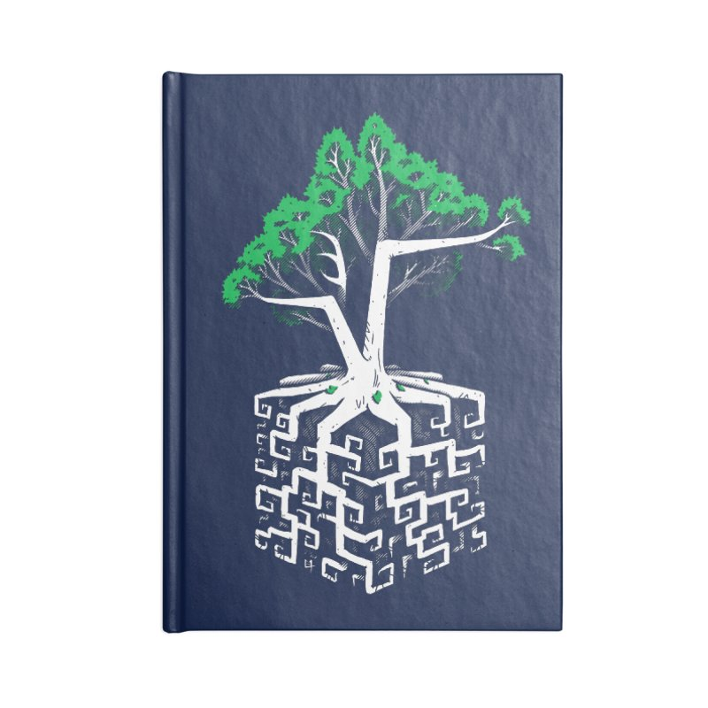 Cube Root Accessories Notebook by c0y0te7's Artist Shop