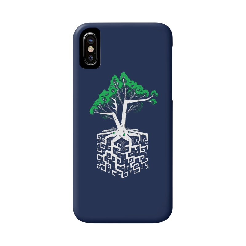Cube Root Accessories Phone Case by c0y0te7's Artist Shop