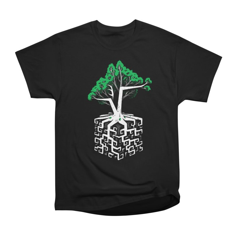 Cube Root Men's Classic T-Shirt by c0y0te7's Artist Shop