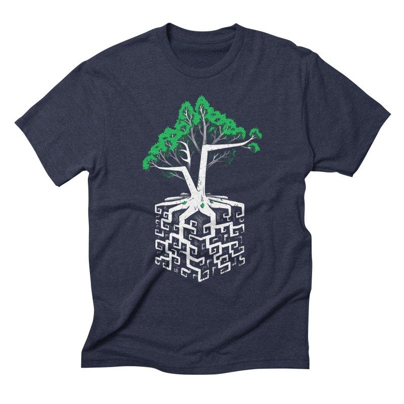 Cube Root Men's Triblend T-Shirt by c0y0te7's Artist Shop