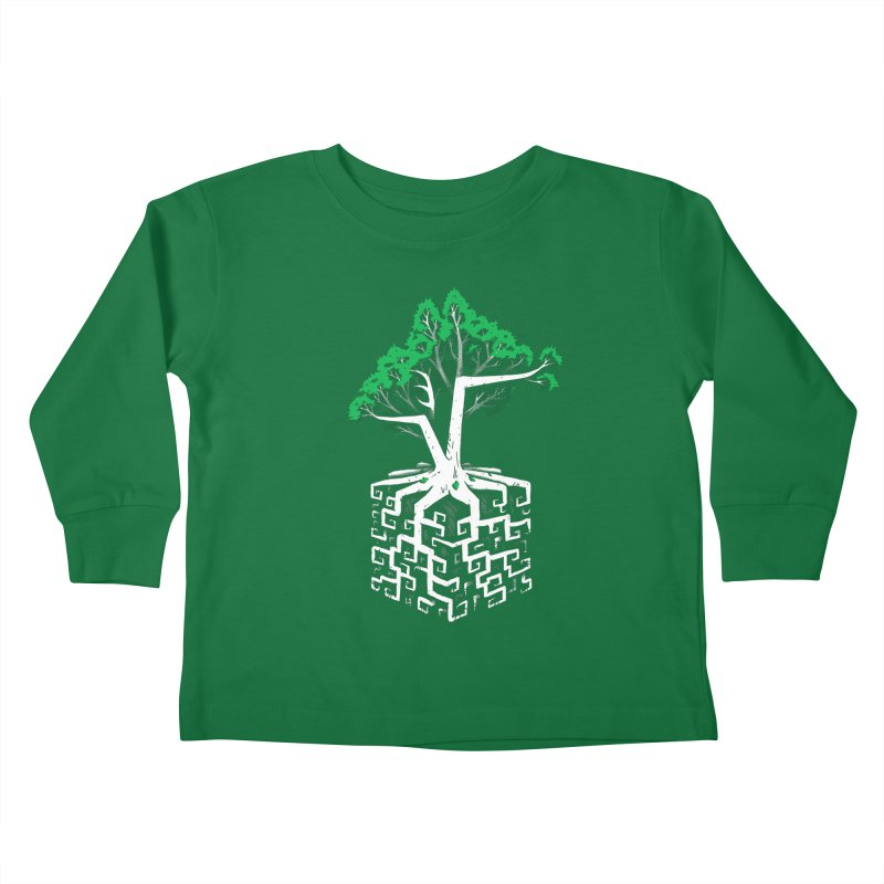 Cube Root Kids Toddler Longsleeve T-Shirt by c0y0te7's Artist Shop