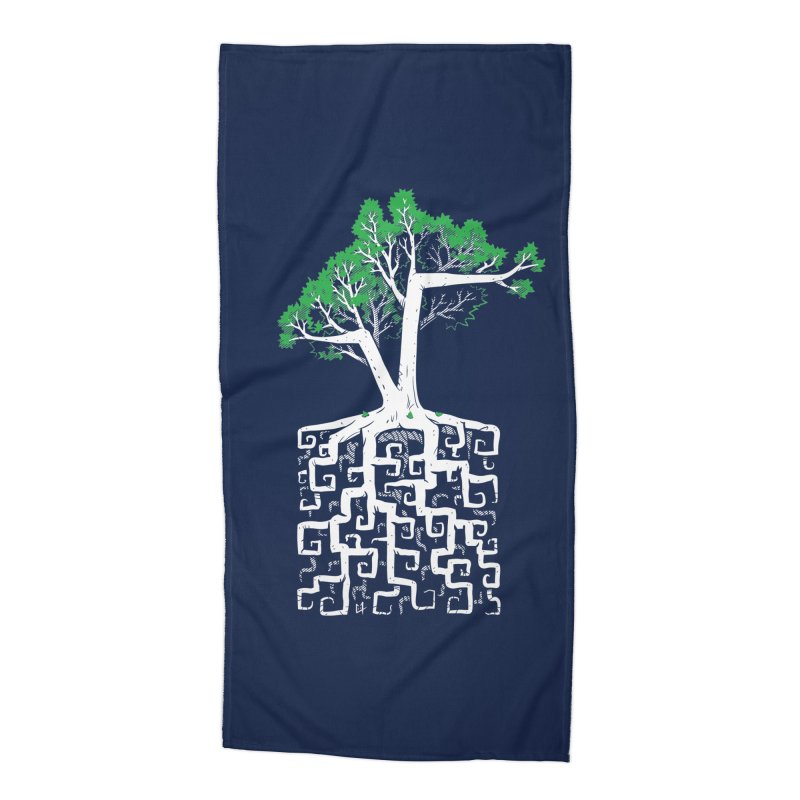 Square Root Accessories Beach Towel by c0y0te7's Artist Shop