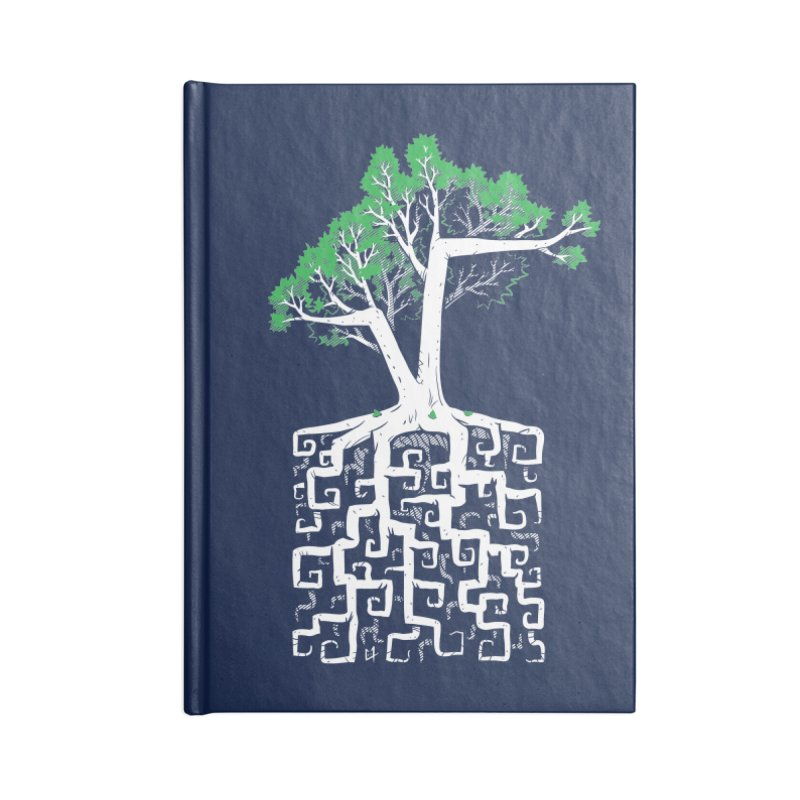 Square Root Accessories Notebook by c0y0te7's Artist Shop