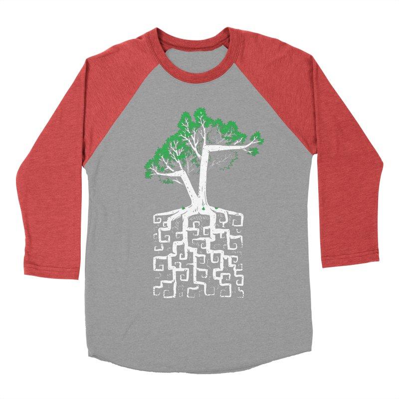 Square Root Women's Baseball Triblend T-Shirt by c0y0te7's Artist Shop
