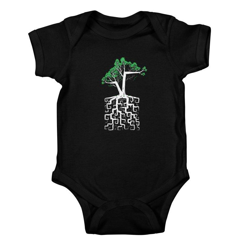 Square Root Kids Baby Bodysuit by c0y0te7's Artist Shop