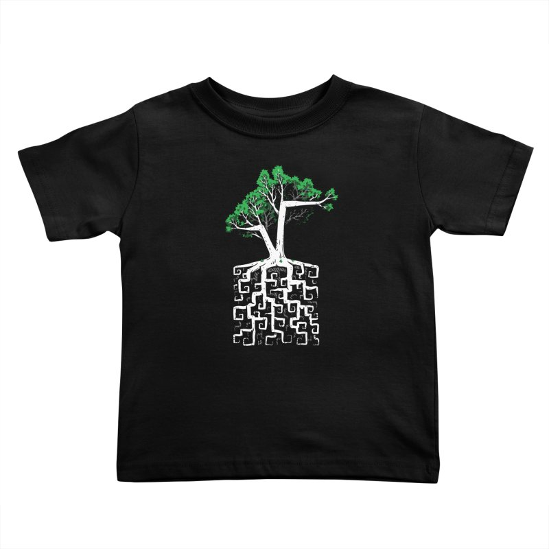 Square Root Kids Toddler T-Shirt by c0y0te7's Artist Shop