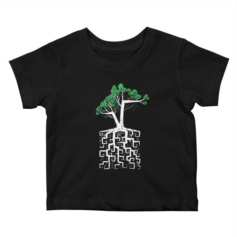 Square Root Kids Baby T-Shirt by c0y0te7's Artist Shop