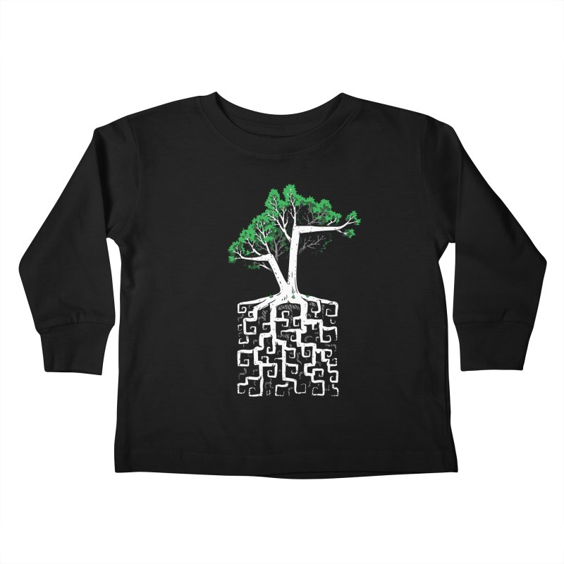 Square Root Kids Toddler Longsleeve T-Shirt by c0y0te7's Artist Shop