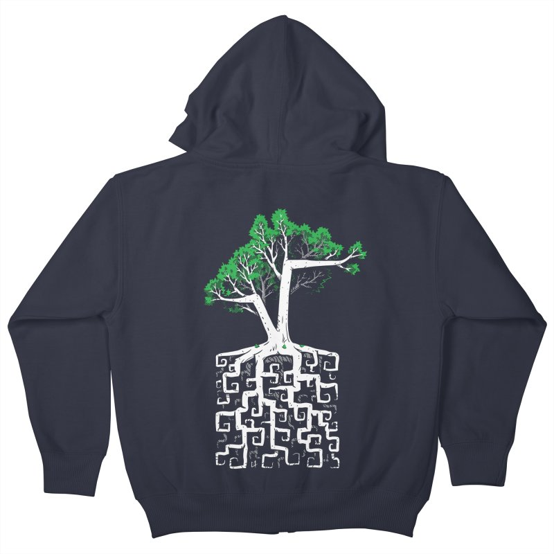 Square Root Kids Zip-Up Hoody by c0y0te7's Artist Shop