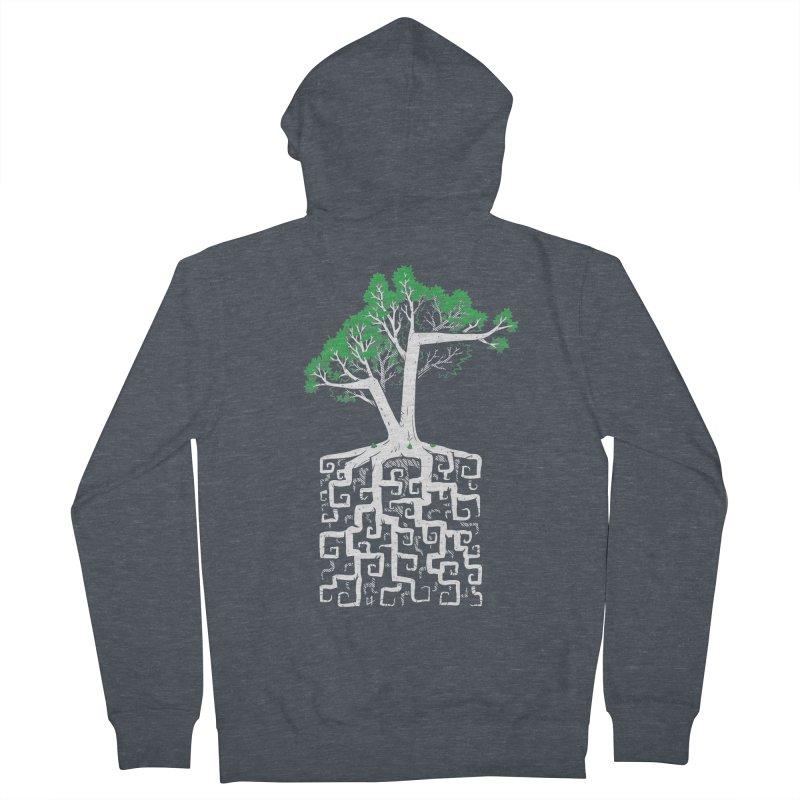 Square Root Men's Zip-Up Hoody by c0y0te7's Artist Shop