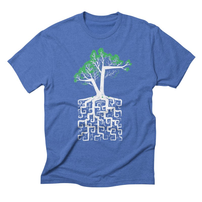 Square Root Men's Triblend T-Shirt by c0y0te7's Artist Shop