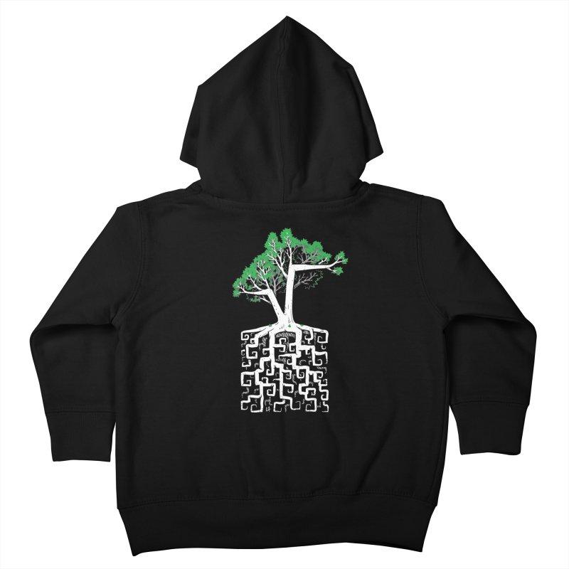 Square Root Kids Toddler Zip-Up Hoody by c0y0te7's Artist Shop