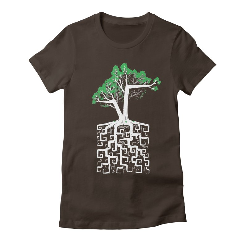 Square Root Women's Fitted T-Shirt by c0y0te7's Artist Shop