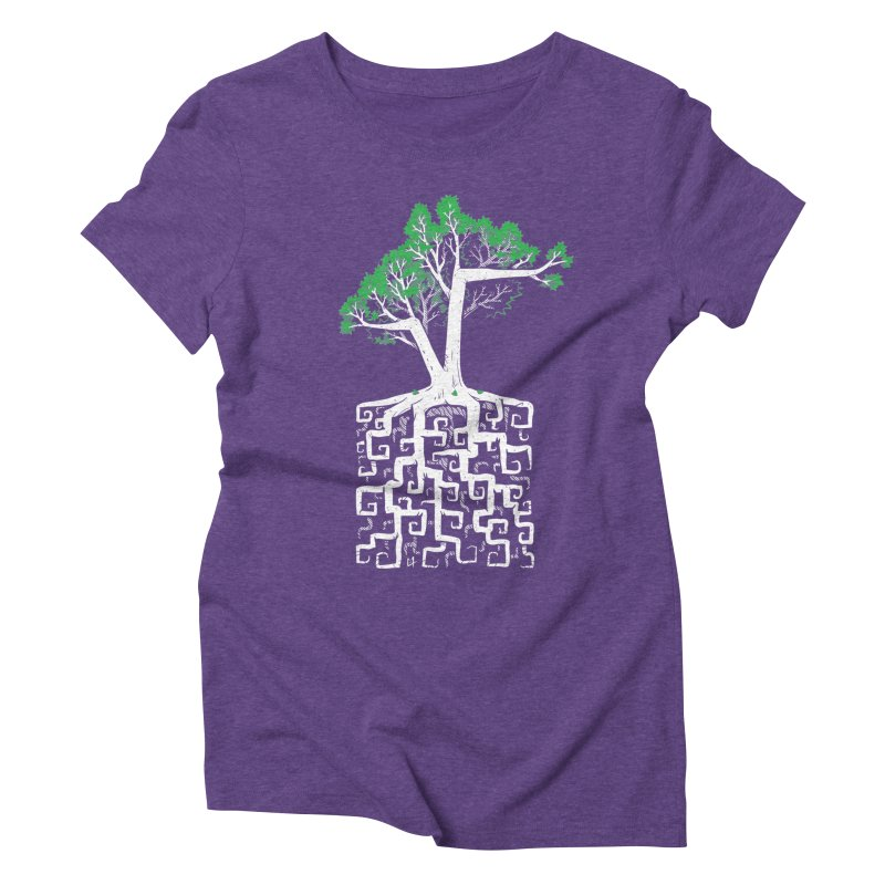 Square Root Women's Triblend T-Shirt by c0y0te7's Artist Shop