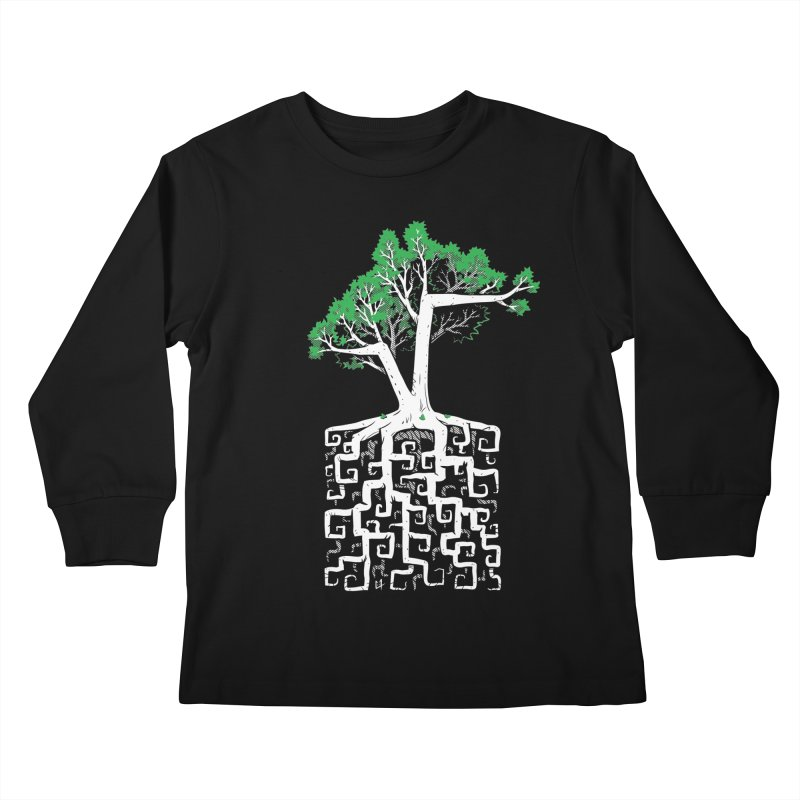 Square Root Kids Longsleeve T-Shirt by c0y0te7's Artist Shop