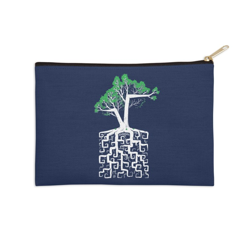 Square Root Accessories Zip Pouch by c0y0te7's Artist Shop