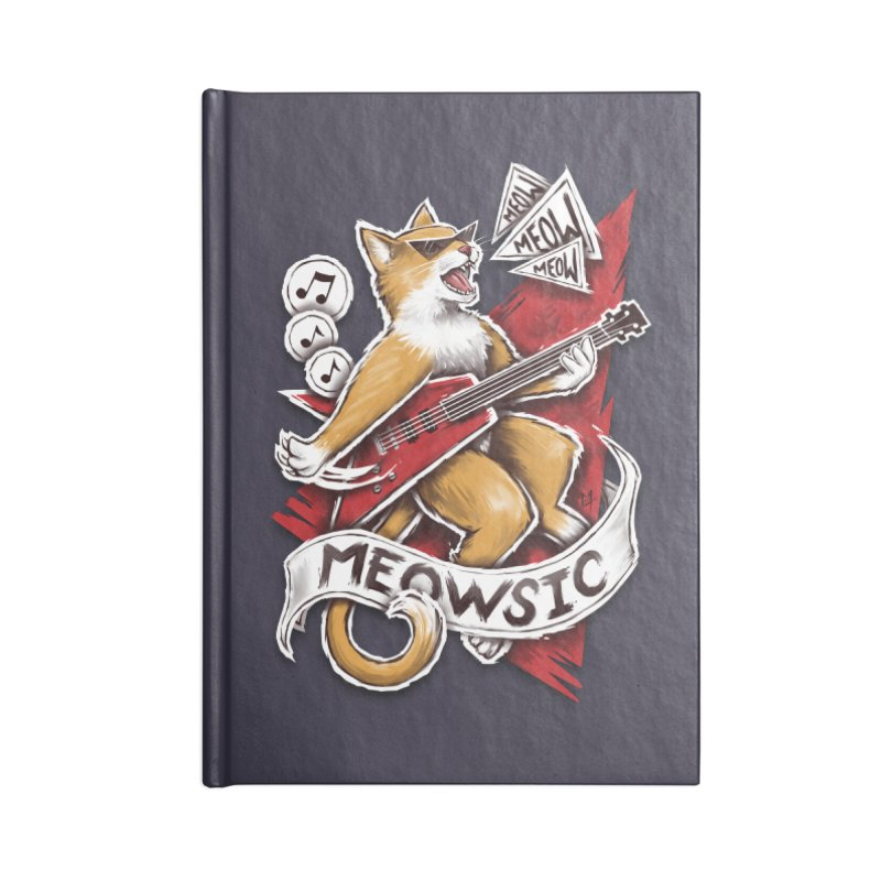Meowsic Accessories Notebook by c0y0te7's Artist Shop