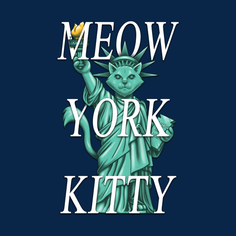 Meow York Kitty by c0y0te7's Artist Shop