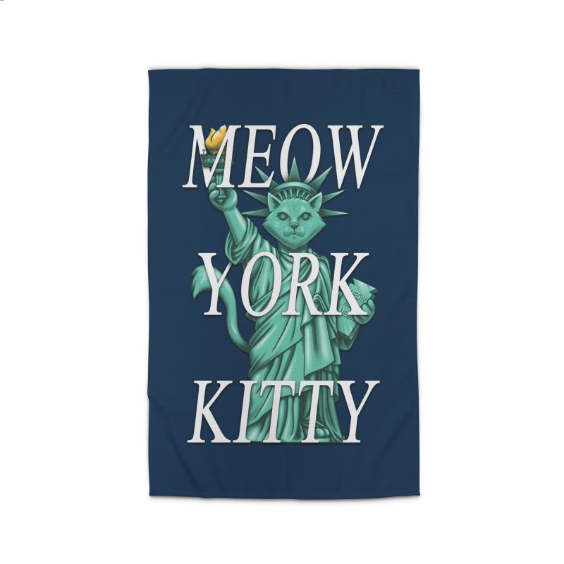 Meow York Kitty Home Rug by c0y0te7's Artist Shop
