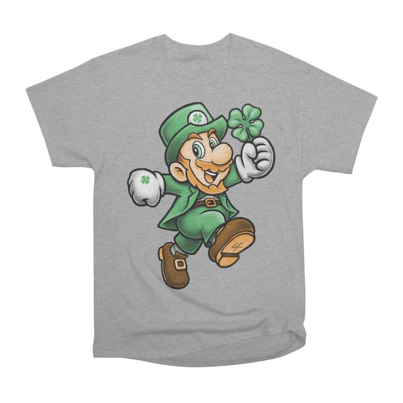 Lucky Mario Men's Classic T-Shirt by c0y0te7's Artist Shop