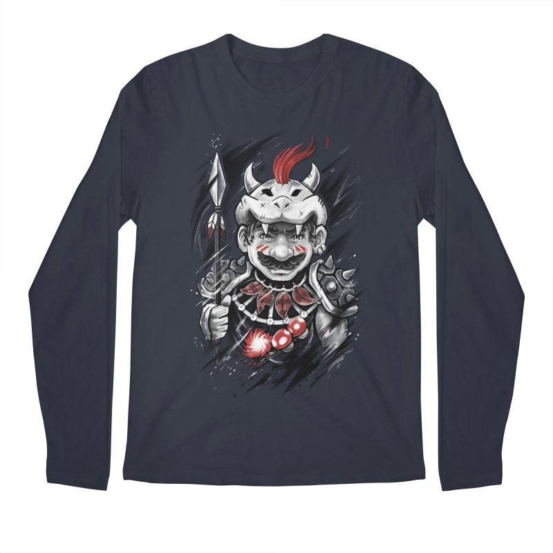 Wild Mario Men's Longsleeve T-Shirt by c0y0te7's Artist Shop
