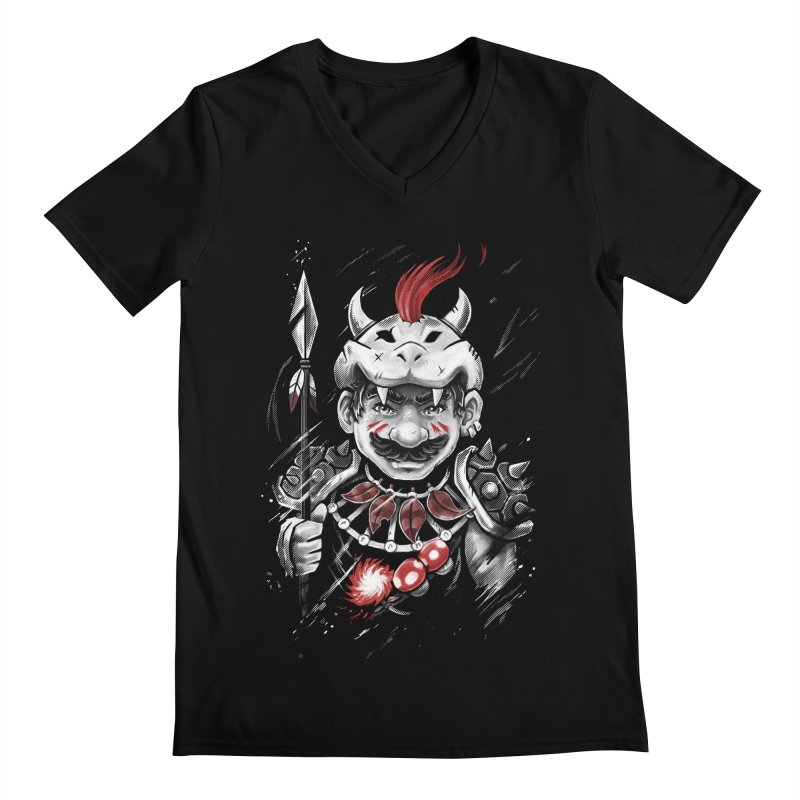 Wild Mario Men's V-Neck by c0y0te7's Artist Shop