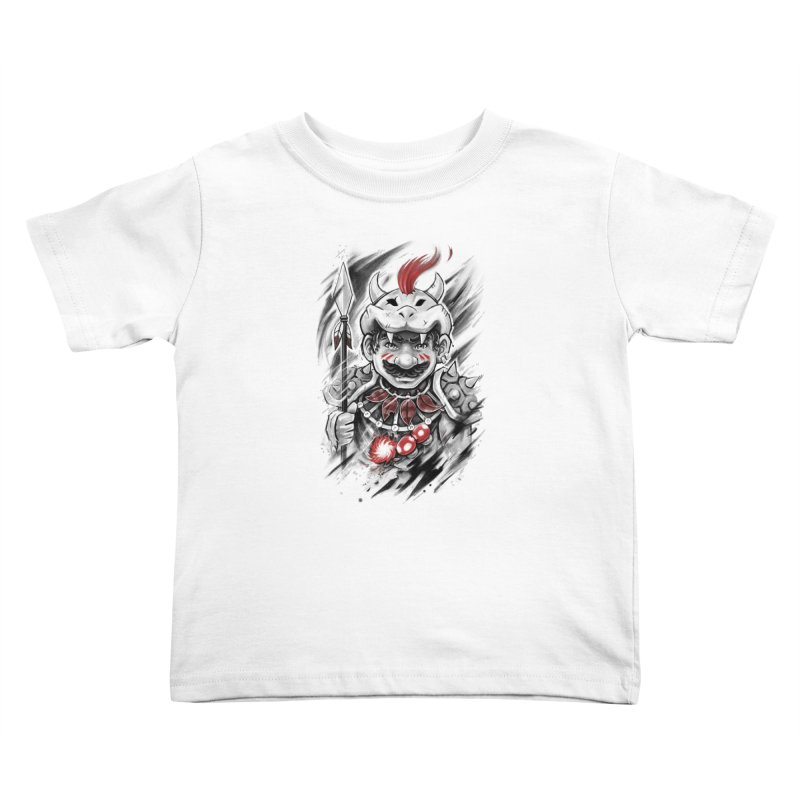 Wild Mario Kids Toddler T-Shirt by c0y0te7's Artist Shop