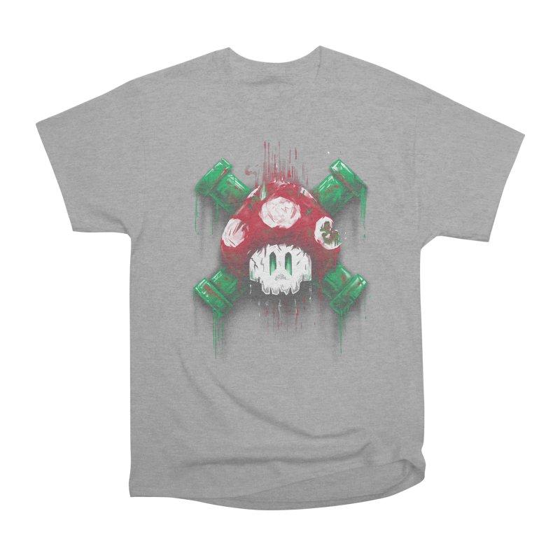Mushroom Skull Men's Classic T-Shirt by c0y0te7's Artist Shop