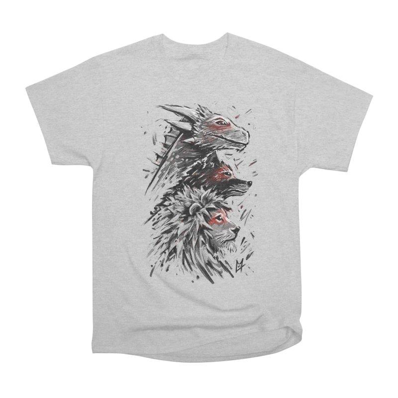 Dragon Wolf Lion Men's Classic T-Shirt by c0y0te7's Artist Shop