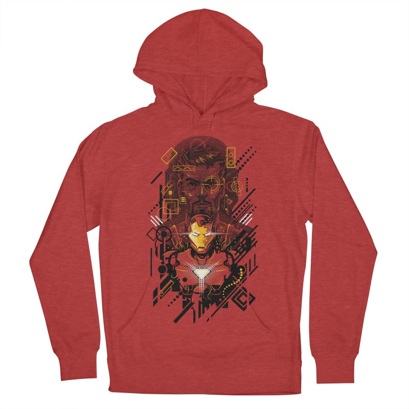 Man Under Iron Men's Pullover Hoody by c0y0te7's Artist Shop