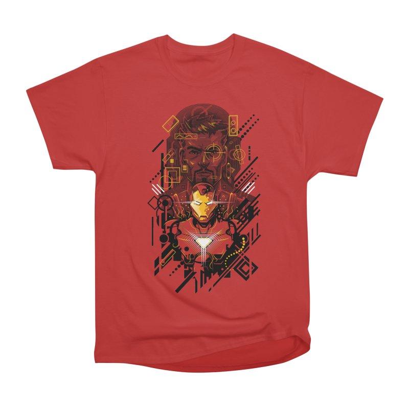 Man Under Iron Men's Heavyweight T-Shirt by c0y0te7's Artist Shop
