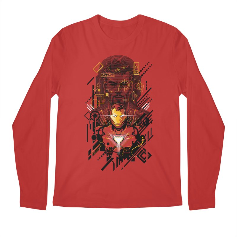 Man Under Iron Men's Longsleeve T-Shirt by c0y0te7's Artist Shop