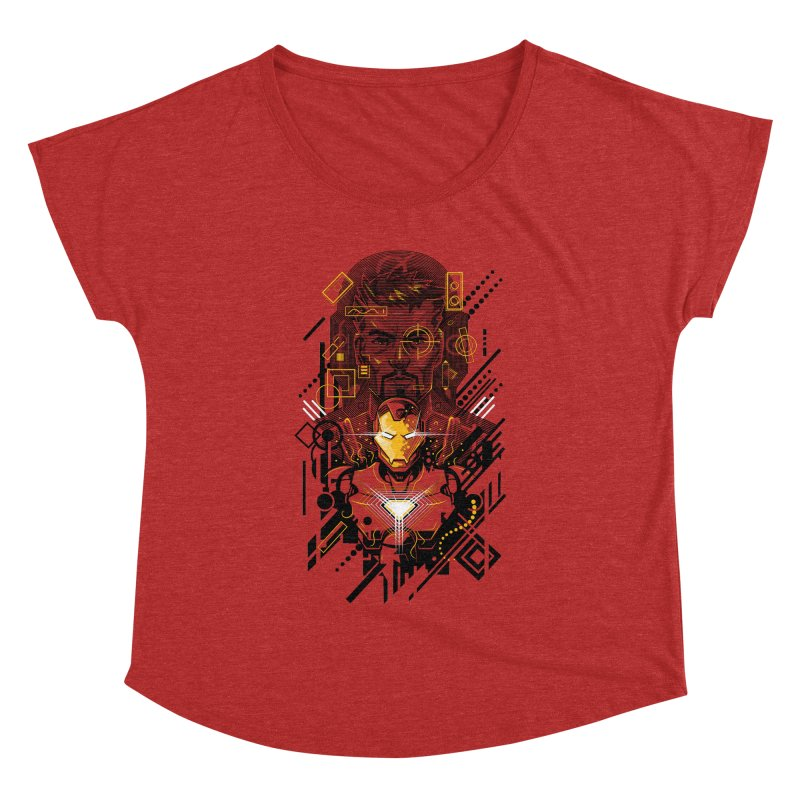 Man Under Iron Women's Dolman by c0y0te7's Artist Shop