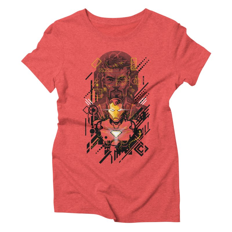 Man Under Iron Women's Triblend T-Shirt by c0y0te7's Artist Shop