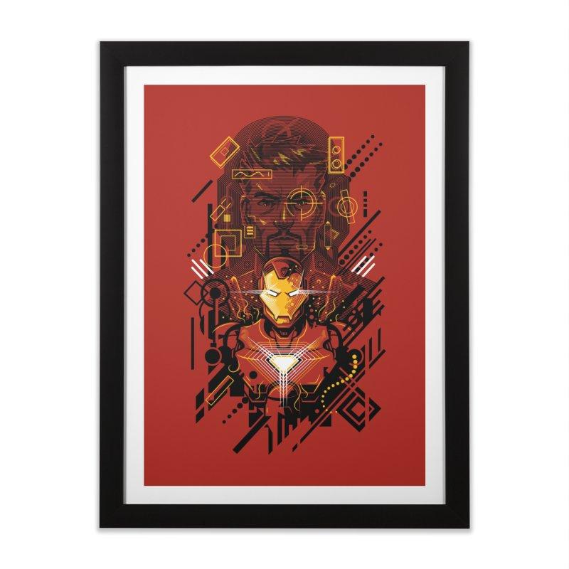 Man Under Iron Home Framed Fine Art Print by c0y0te7's Artist Shop