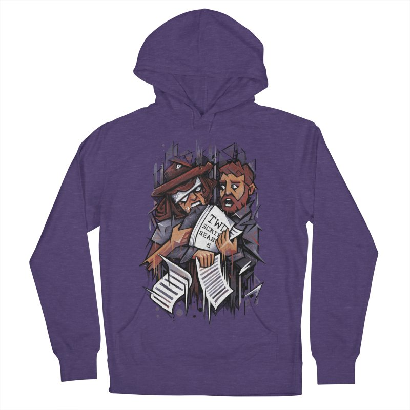 Zombie Carl VS Showrunner Men's Pullover Hoody by c0y0te7's Artist Shop