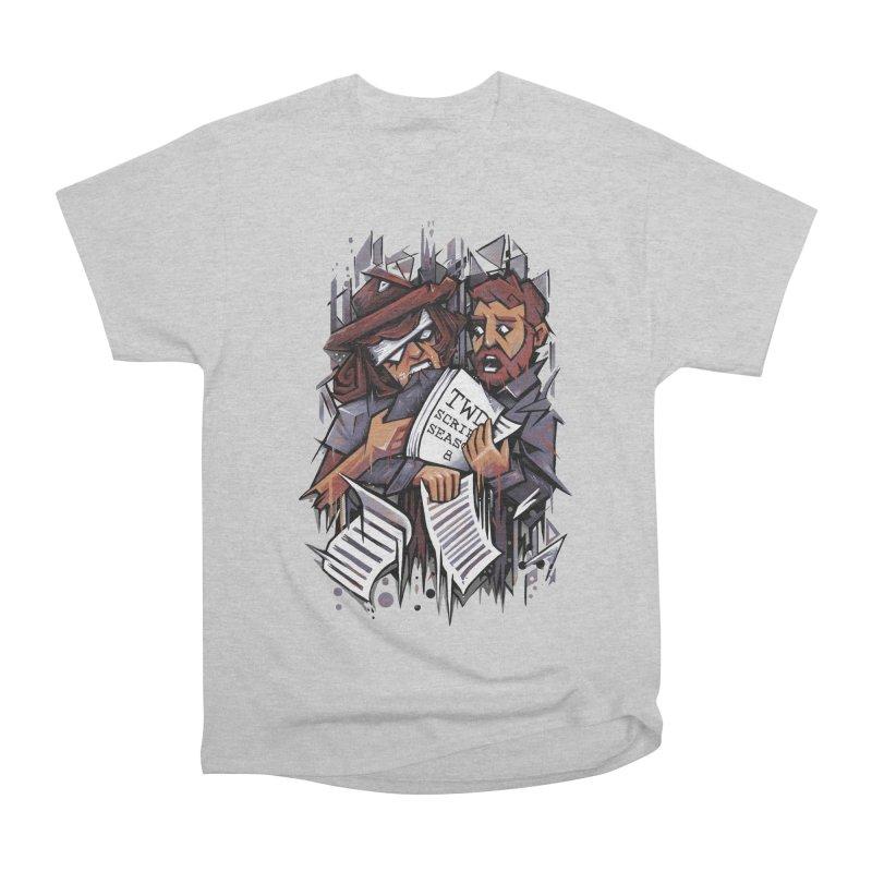 Zombie Carl VS Showrunner Men's Heavyweight T-Shirt by c0y0te7's Artist Shop
